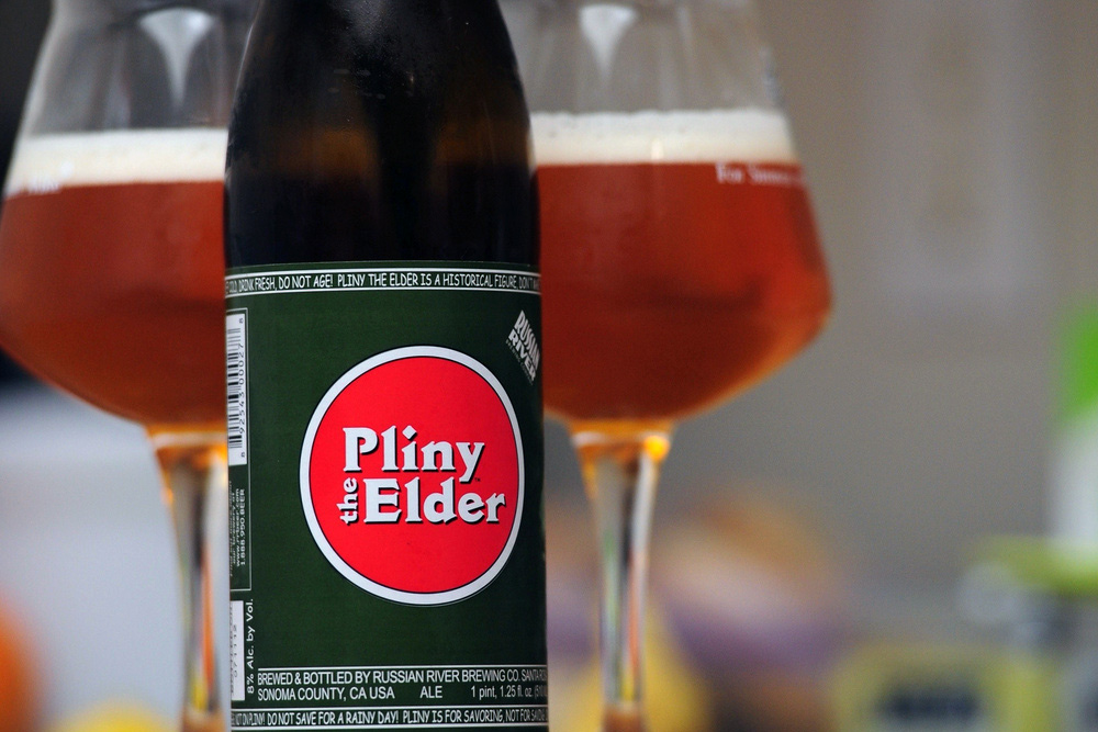 Pliny west coast IPA