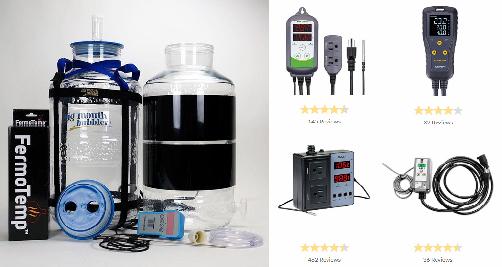 best fermentation temperature controllers for home brewing